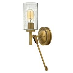 Hinkley Lighting Collier Heritage Brass Sconce