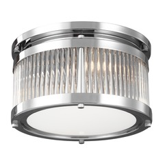 Feiss Lighting Paulson Chrome Flushmount Light