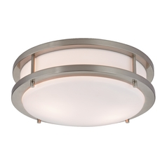 Design Classics Lighting Contemporary Drum Ceiling Light - 10-Inches Wide 2010-09