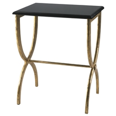 Cyan Design Hourglass Antique Gold & Black Table