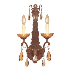 Sconce Wall Light in Venetian Bronze Finish
