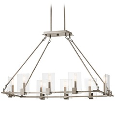 Kichler Signata 8-Light Chandelier in Classic Pewter