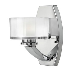 Hinkley Lighting Meridian Chrome LED Sconce