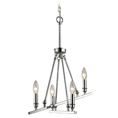 Golden Lighting Garvin Ch Chrome Mini-Chandelier