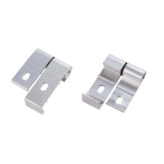 Recesso Lighting Aluminum Mounting Brackets for Linear LED Lights
