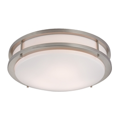 Design Classics Lighting Large Contemporary Drum Ceiling Light - 14-Inches Wide 2014-09