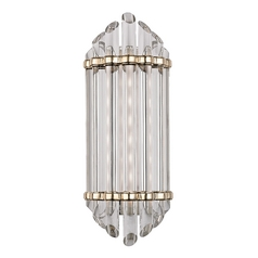 Albion Aged Brass LED Bathroom Light