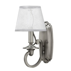 Hinkley Lighting Plymouth Polished Antique Nickel Sconce
