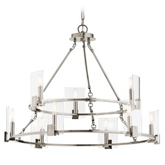 Kichler Lighting Signata Classic Pewter Chandelier