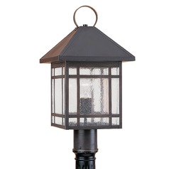 Sea Gull Lighting Largo Antique Bronze Post Light