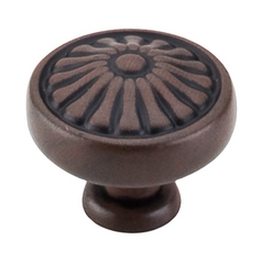 Cabinet Knob in Patina Rouge Finish