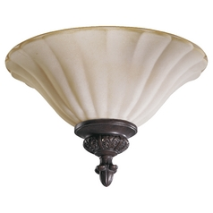 Quorum Lighting Coronado Gilded Bronze Flushmount Light