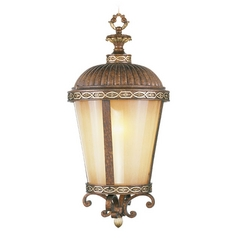 Livex Lighting Seville Palacial Bronze with Gilded Accents Outdoor Hanging Light