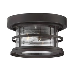 Savoy House Lighting Barrett English Bronze Close To Ceiling Light