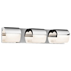 Elan Lighting Olo Chrome LED Bathroom Light