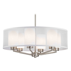 Palatine Fuse Satin Nickel Pendant Light