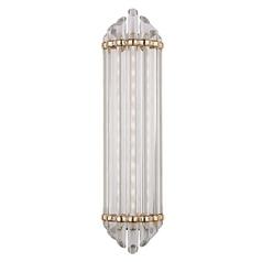 Hudson Valley Lighting Albion Aged Brass LED Bathroom Light