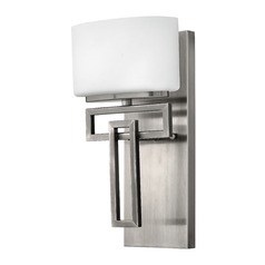 Hinkley Lighting Lanza Antique Nickel LED Sconce