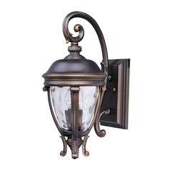 Maxim Lighting Camden Vx Golden Bronze Outdoor Wall Light