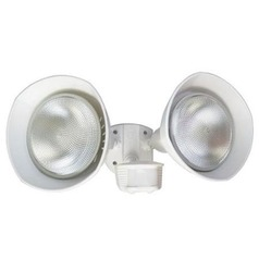 Motion Activated Twin Head Security Flood Light