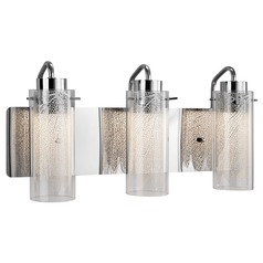 Elan Lighting Krysalis Chrome LED Bathroom Light