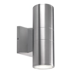 Kuzco Lighting Modern Silver LED Outdoor Wall Light 3000K 1560LM