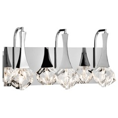 Elan Lighting Rockne Chrome LED Bathroom Light