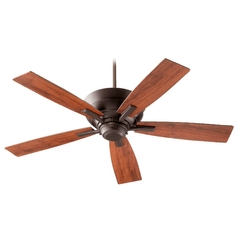 Quorum Lighting Mercer Oiled Bronze Ceiling Fan with Light