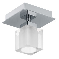 Eglo Bantry Matte Nickel Semi-Flushmount Light