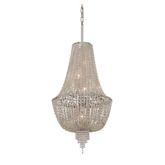 Corbett Lighting Vixen Polished Nickel Jewerly Chain Island Light