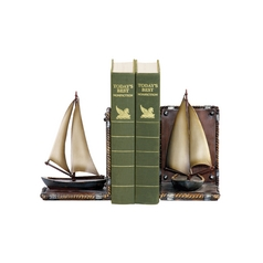 Decorative Sailboat Bookends