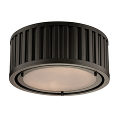 Flushmount Light in Oil Rubbed Bronze Finish