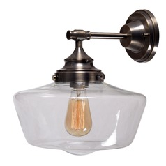 Kenroy Home Cambridge Aged Metal Sconce