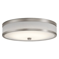 Modern LED Flushmount Light Champagne Pira by Kichler Lighting