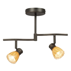 Galaxy / Excel Lighting Bronze Adjustable Two-Light Spotlight 754972DBC