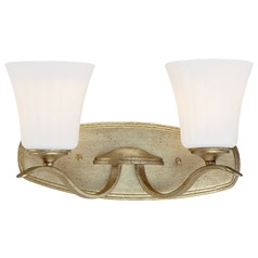 Minka Laurel Estate Brio Gold Bathroom Light