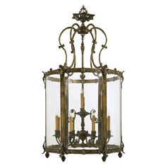 Metropolitan Lighting Metropolitan Antique Bronze Patina Pendant Light