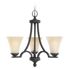 Sea Gull Lighting Somerton Blacksmith Mini-Chandelier