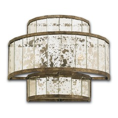 Currey and Company Lighting Fantine Pyrite Bronze Sconce