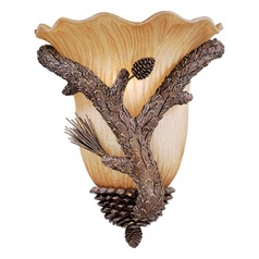 Aspen Pine Tree Sconce by Vaxcel Lighting