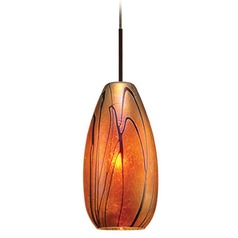 WAC Lighting Pacific Northwest Collection Dark Bronze Track Pendant