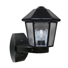 Outdoor Wall Light Black Costaluz by Besa Lighting