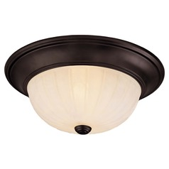 Savoy House English Bronze Flushmount Light