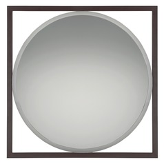 Quoizel Reflections Square 30-Inch Mirror