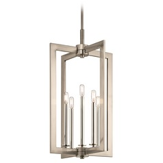 Industrial Pendant Light Pewter Cullen by Kichler Lighting