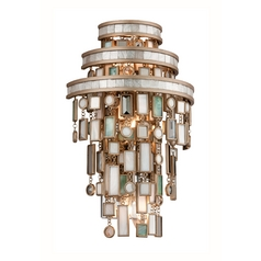 Corbett Lighting Dolcetti Silver Sconce
