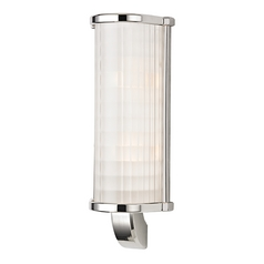 Hudson Valley Lighting Arcadia Polished Nickel Sconce