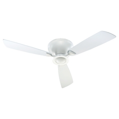 Quorum Lighting Nikko Studio White Ceiling Fan with Light