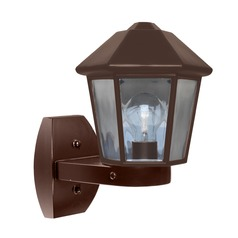 Outdoor Wall Light Bronze Costaluz by Besa Lighting