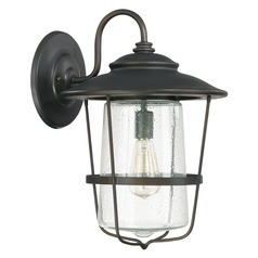 Capital Lighting Creekside Old Bronze Outdoor Wall Light